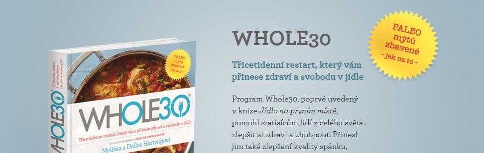 Obálka knihy Whole30
