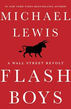 Obálka knihy Flash Boys, Michael Lewis