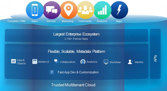 Salesforce.com platform