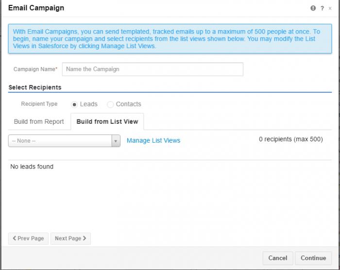 Vytvoření kampaně přímo v Gmailu