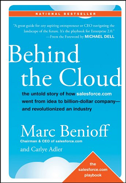 Behind the Cloud, Marc Benioff, cover of the book