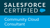 Salesforce Community Cloud Consultant logo
