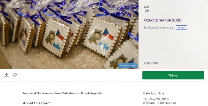 CzechDreamin 2020 tickets.