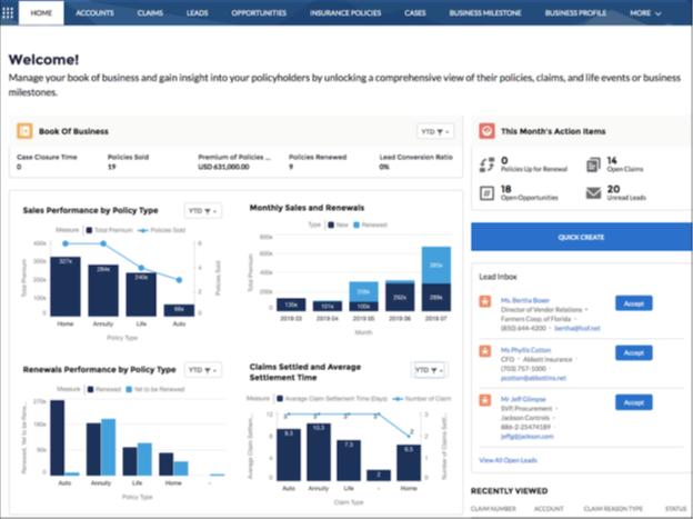 Financial Cloud improvements