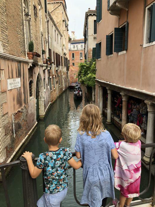 Kanály v Benátkách