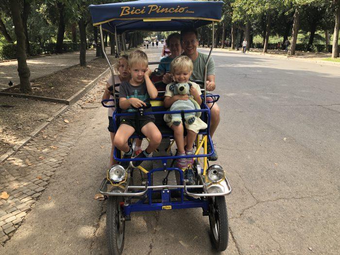 Jízda na kole, pro mě snad nejlepší zážitek z Říma