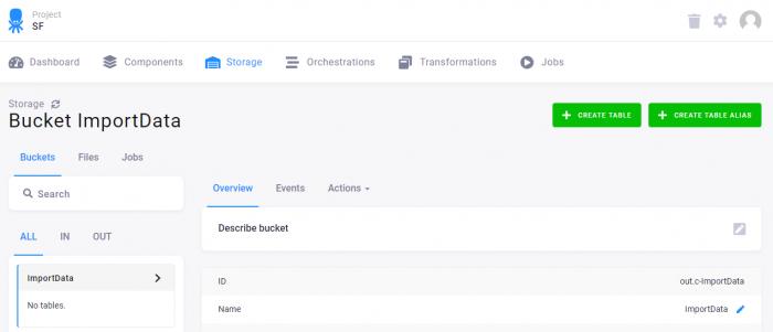 Storage page